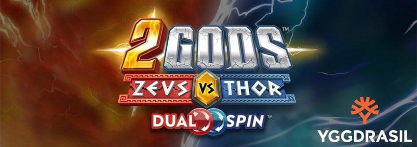 Låt mäktiga gudar göra upp i ny Dual Spin-slot