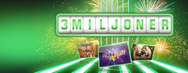 Slotfestival – hela 3 miljoner kronor ska delas ut