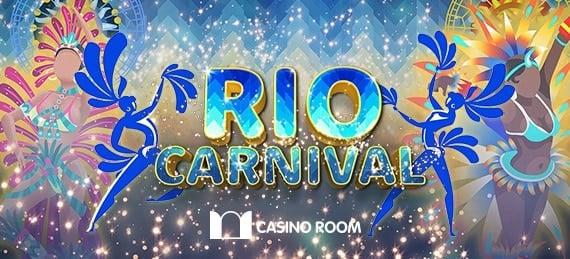 50 000 kr Rio Karneval på Casinoroom