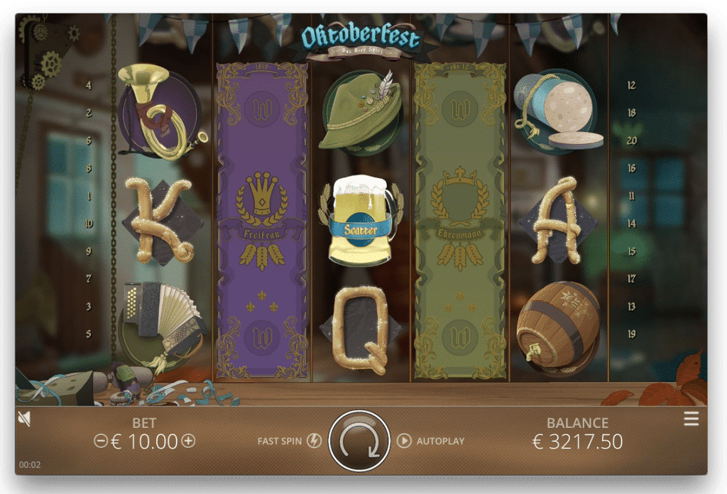 Nolimit City Oktoberfest Screenshot