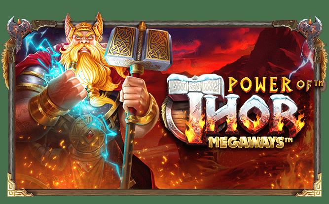 Slotsnytt: träffa åskguden Thor i nya Power of Thor Megaways