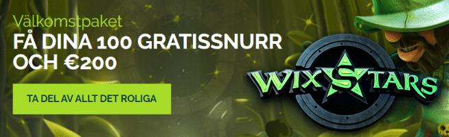 Premiär hos Casino Wings: Wixstars – med unikt välkomstpaket