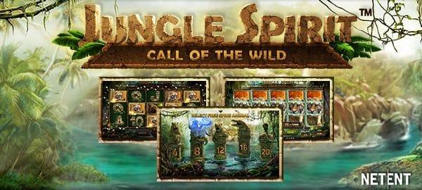 Nytt häftigt spel med djungeltema från NetEnt