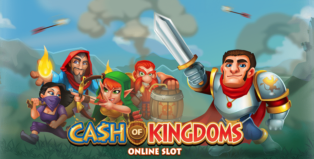 Microgaming lanserar nytt slotsspel – Cash of Kingdoms