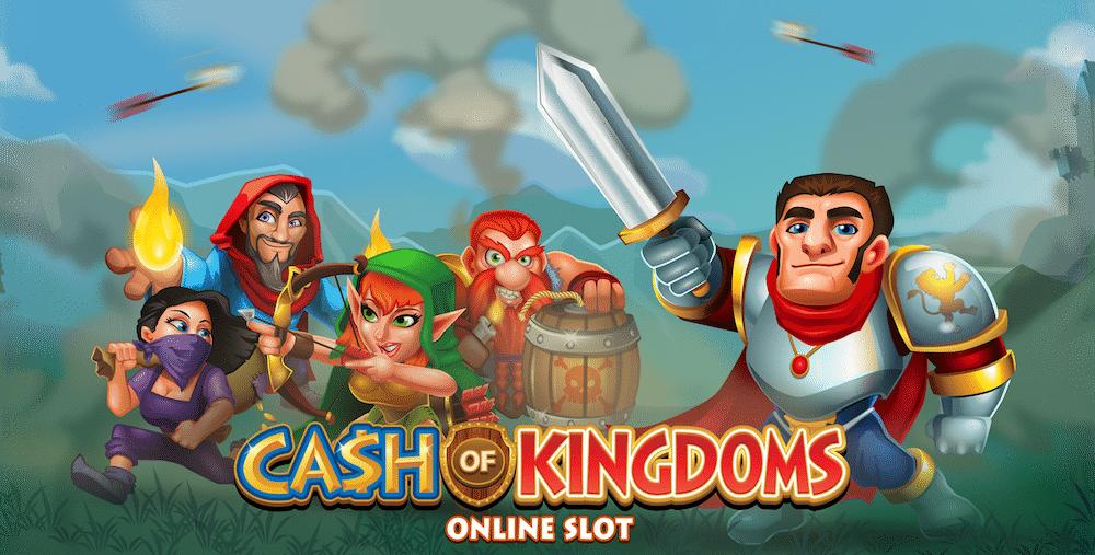 Microgaming lanserar nytt slotsspel – Cash of Kingdoms