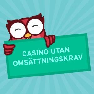 Casino utan omsättningskrav