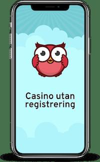 Bästa casino utan registrering