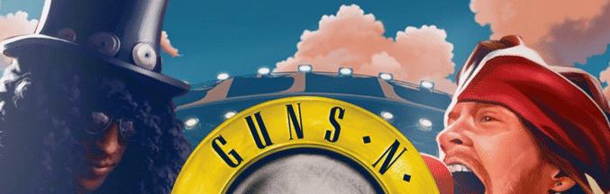 5 gratissnurr på Guns N' Roses helt utan krav