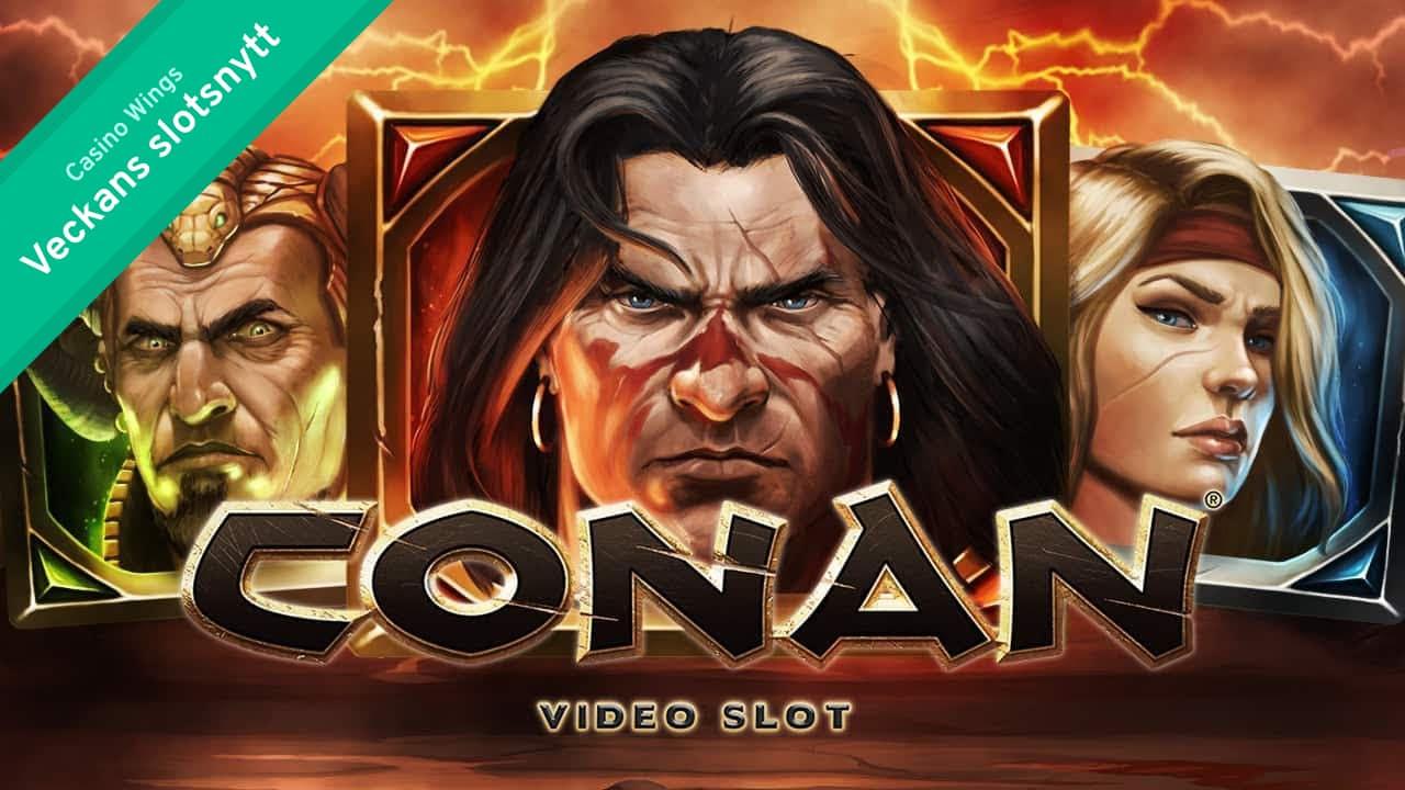 Veckans slotsnytt: metal, barbaren Conan och irländsk klöver