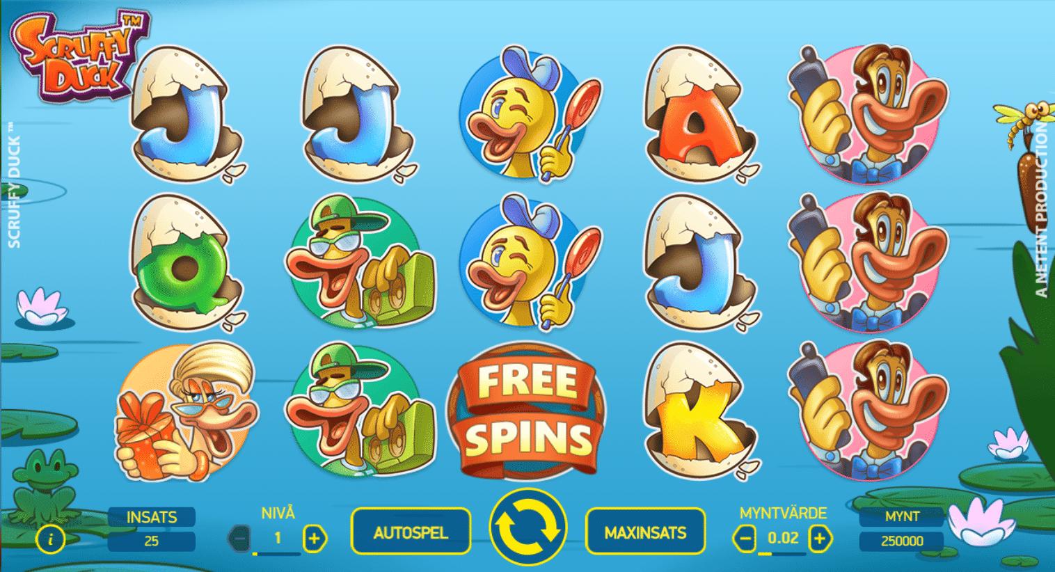 Dags för ett helt nytt roligt spel: Scruffy Duck