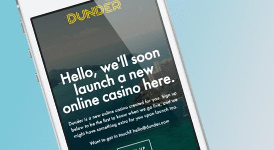 Casumo lanserar nytt – Dunder Casino snart här