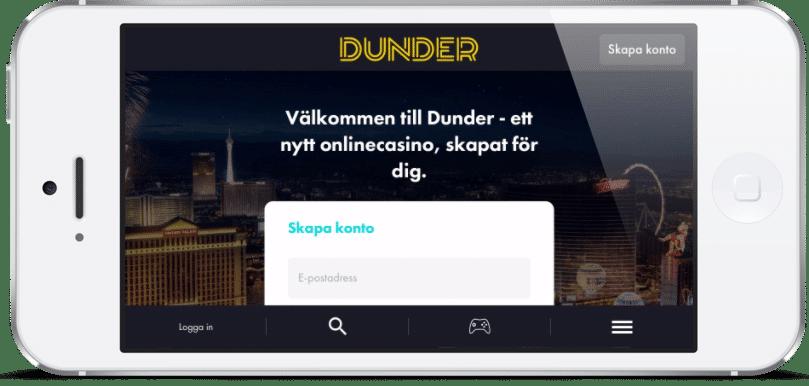JUST NU: Dunder Casino officiellt öppet för alla