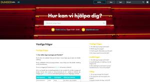 Dunder Casino Hjälpsida