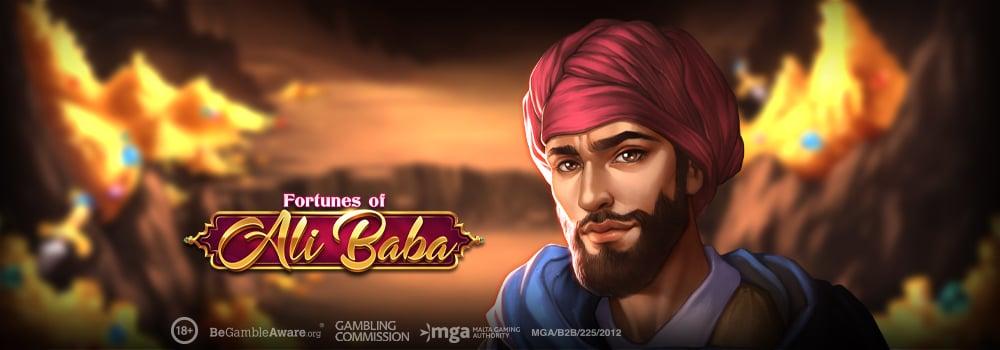Följ med Ali Baba in i rövargrottan i ny slot