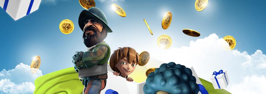50 gratissnurr på spelet Piggy Riches