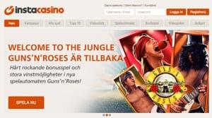 InstaCasino är bästa casino sidan just nu