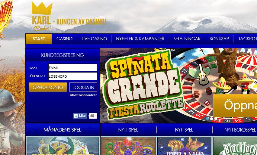 Flera casinon får uppdaterat spelutbud