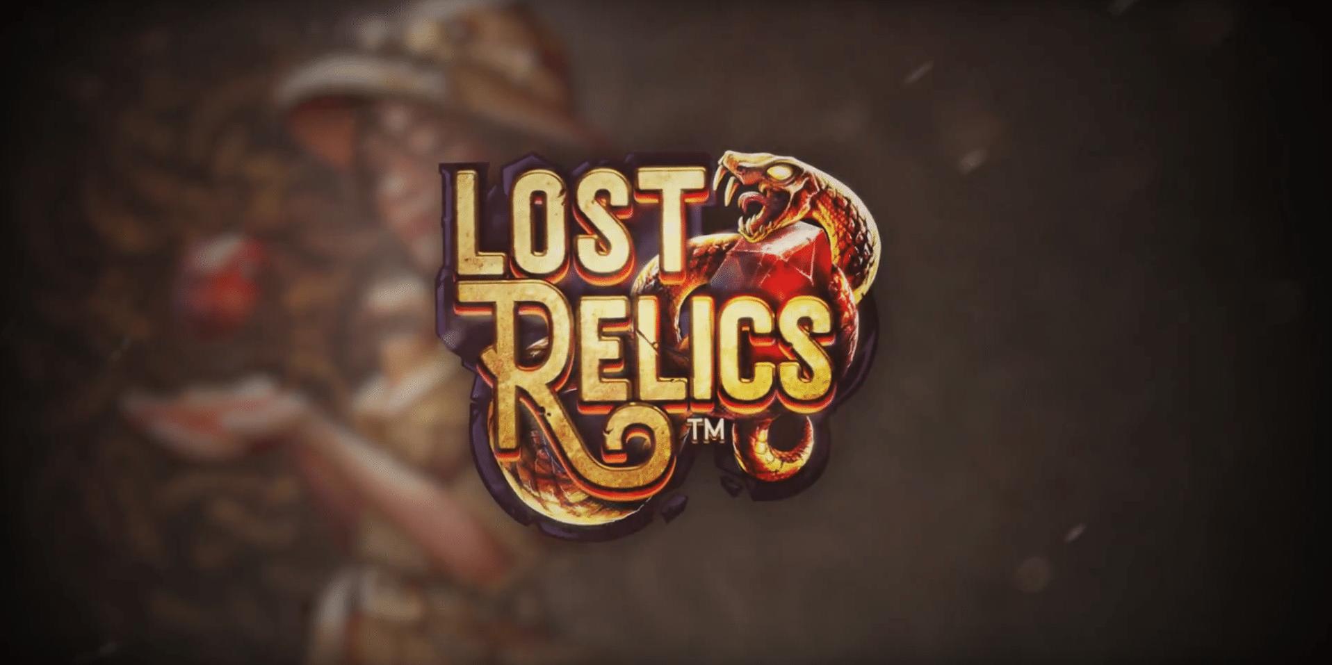 Lost Relics, NetEnt