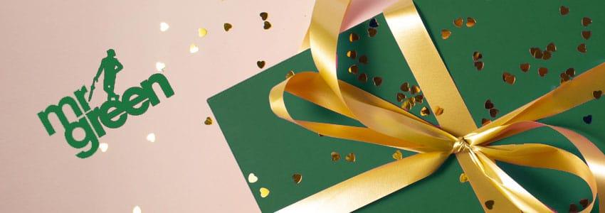 Delta i den gröna spelsajtens eget gåvoregn