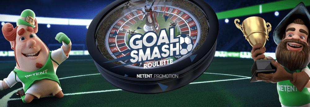 Goal Smash Roulette med hela 750 000 kr i potten
