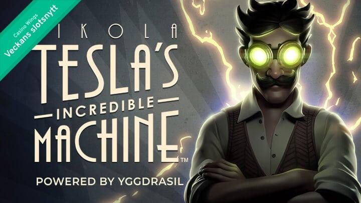 Veckans slotsnytt: Nikola Tesla, Hugo och Tome Wilds