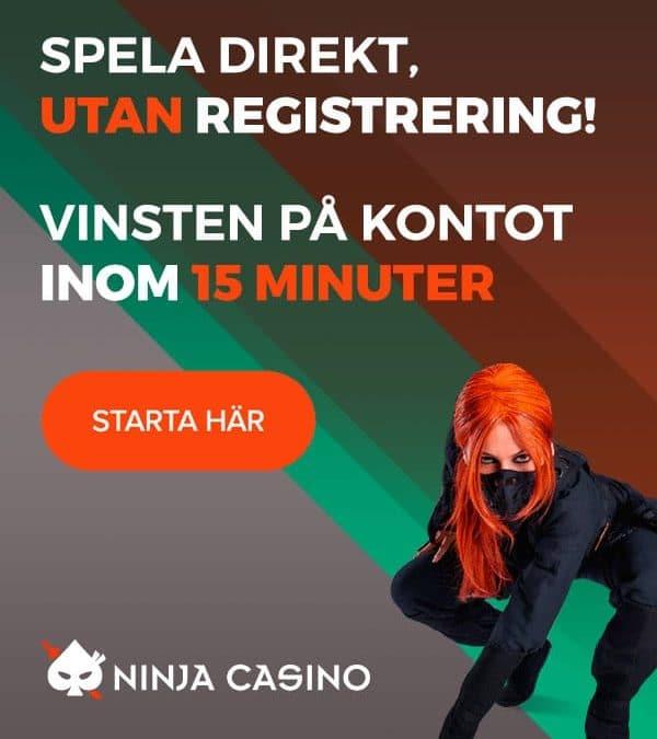 Spela hos Ninja