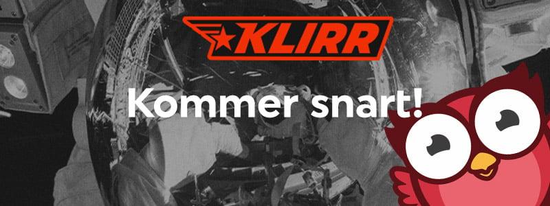 Klirr – En ny spelsajt gör entré på den svenska marknaden