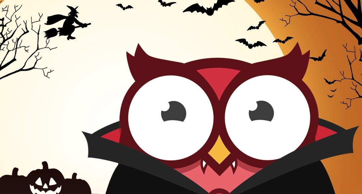 Just nu: Owlie lottar ut två biobiljetter under Halloween