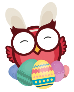Owlie firar påsk
