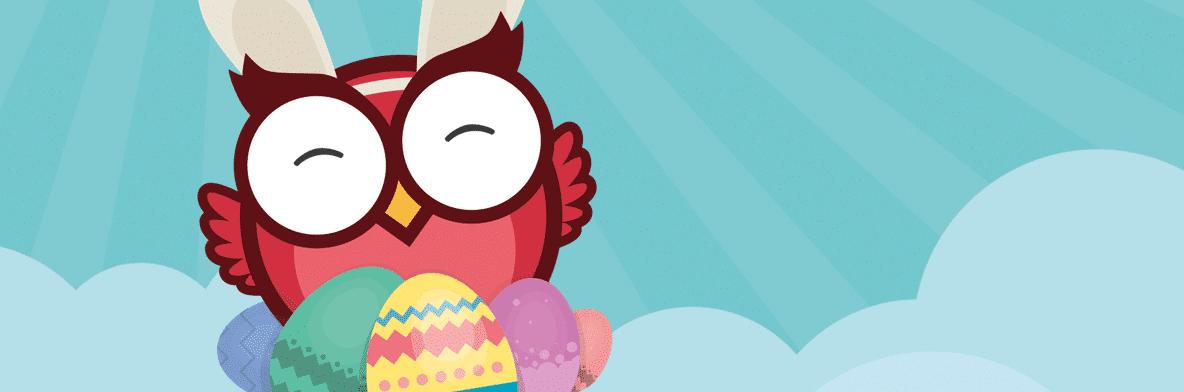 Påskspecial: Owlie fyller påskäggen med enorma vinster