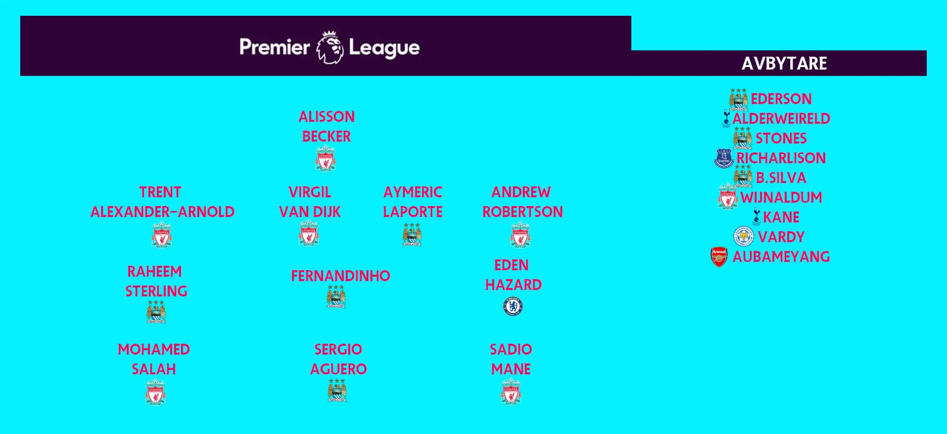 Premier league laget
