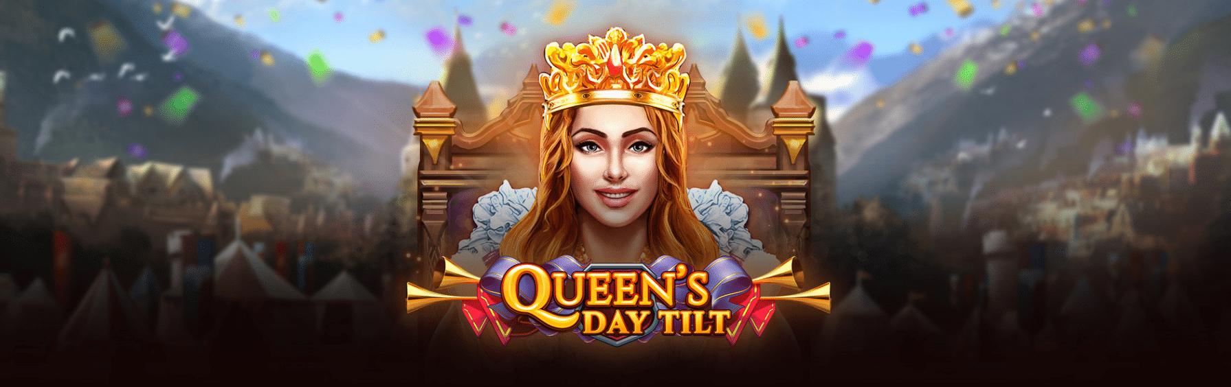 Veckans slotsnytt: Queen's Day Tilt & Shogun of Time