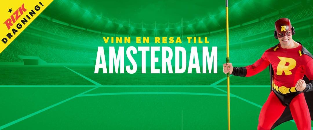 Vinn en resa till Amsterdam och EM i friidrott