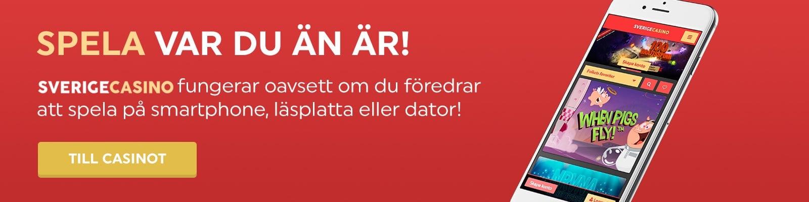 SverigeCasino i mobil