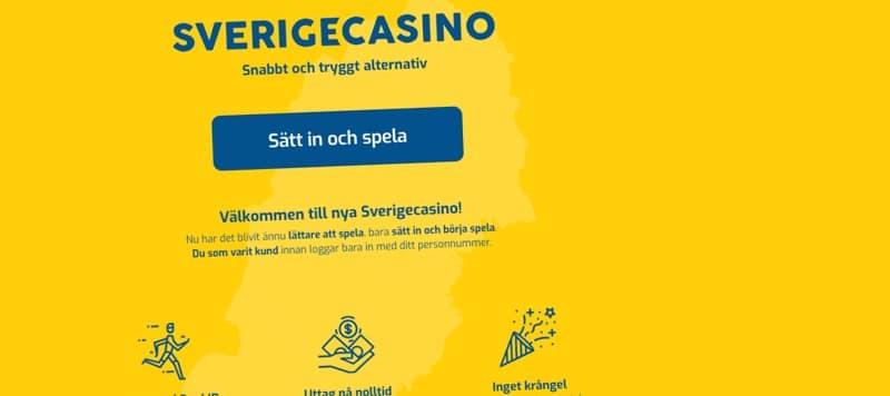 Svensk spelsajt lanserar ny hemsida